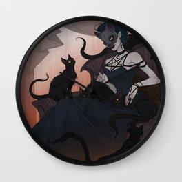 Cat Lady Wall Clock