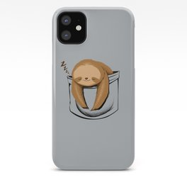 Sloth in a Pocket iPhone Case