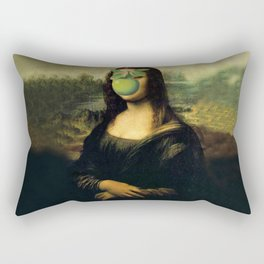 GIOCONDA MAGRITTE Rectangular Pillow