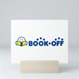 Book-Off (ブックオフ) Logo 02 Mini Art Print