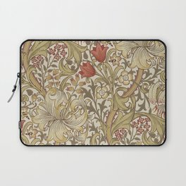 William Morris Vintage Golden Lily Biscuit Brick  Laptop Sleeve