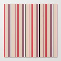 stripe Canvas Prints featuring Stripe by Tayler Willcox