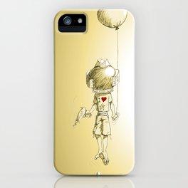 Solar Kid iPhone Case