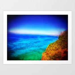Caba Beach Art Print