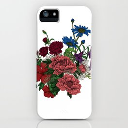 """Flower Arrangement Fall in Love Series """" Let it be"""" iPhone Case"""