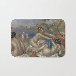 Bathers Playing with a Crab Bath Mat