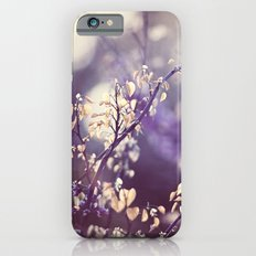 Purple Nature Photography, Violet Botanical Yellow Cream Photograph Slim Case iPhone 6s