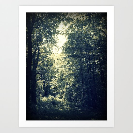 Pour a Little of that Sunlight On Me Art Print