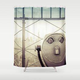 New York City Summer Shower Curtain
