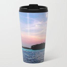 Island in a not-Sun Metal Travel Mug