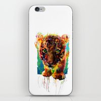 tiger iPhone & iPod Skins featuring tiger by ururuty