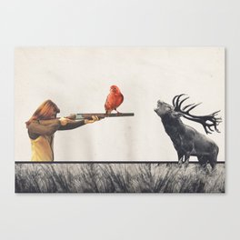 Le tir Canvas Print