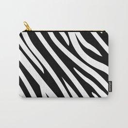 zebra pattern Carry-All Pouch