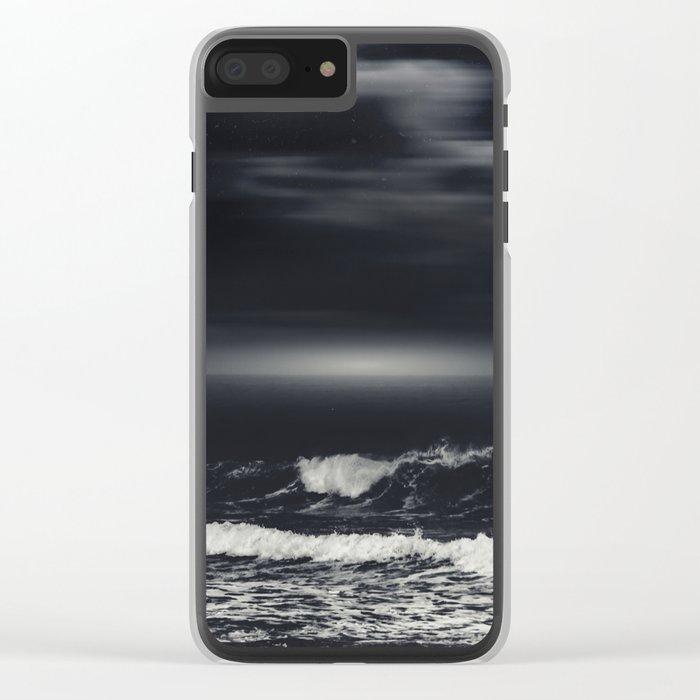 bLack sEa Clear iPhone Case