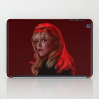 laura palmer iPad Cases featuring Laura Palmer from Twin Peaks by Annike