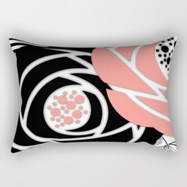 Abstract Roses 2 Rectangular Pillow