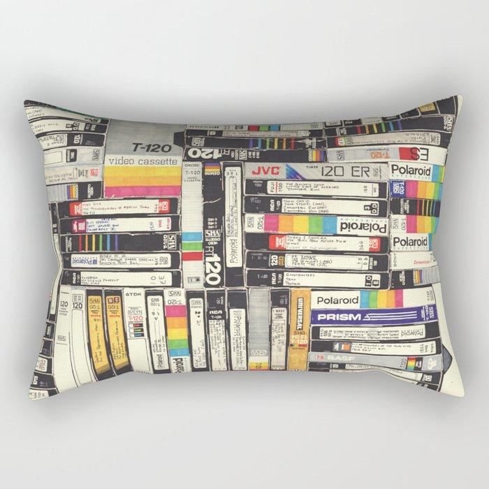 VHS I Rectangular Pillow