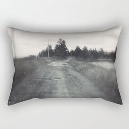 The Road to the Beach Rectangular Pillow