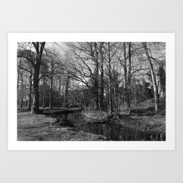 Early Spring in the Park Art Print