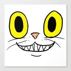 Cat Face 4 Canvas Print