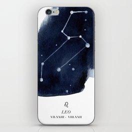 Zodiac Star Constellation - Leo iPhone Skin
