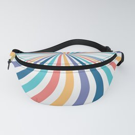 Rainbow Candy // Swirl Abstract Fanny Pack