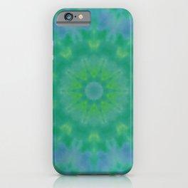 Pastel Geometric flower design iPhone Case