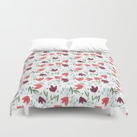 tulip Duvet Covers featuring Tulip  by Totten-Design