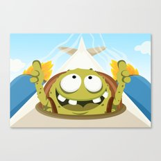 Monster ROGER from Monster serie Canvas Print