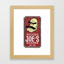 Rugged Joe's Razors Framed Art Print