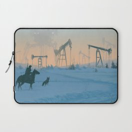 1920 -Iron fields Laptop Sleeve