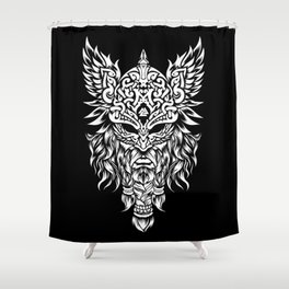 Odin The Allfather - Asgard God And Chief Of Aesir Shower Curtain