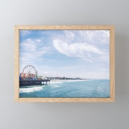 Cali Summer Vibe Framed Mini Art Print