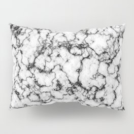 Black and White Stone Pillow Sham