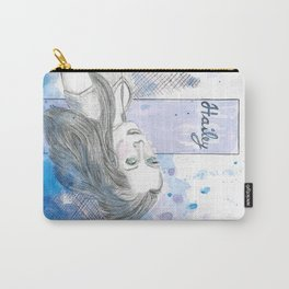 Hailey, dreamless, but not without dreams. Carry-All Pouch