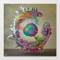 archan nair Canvas Prints featuring Korah by Archan Nair