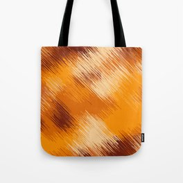 brown orange and dark brown abstract background Tote Bag