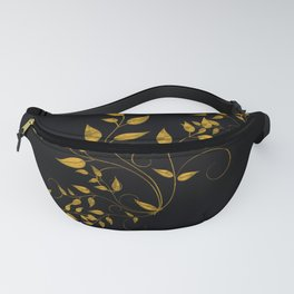 TREES VINES AND LEAVES OF GOLD Fanny Pack
