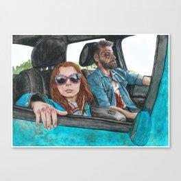 Laura and Logan Canvas Print