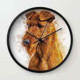 Irish Terrier Wall Clock