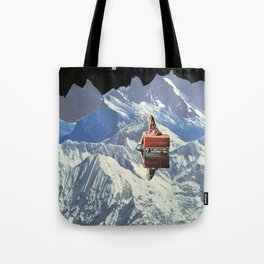 somewhere along the way she found herself Tote Bag