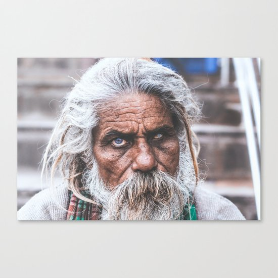 The Eyes of India Canvas Print