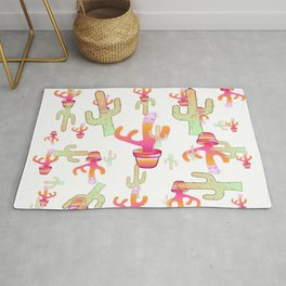 Cactus Family Day Rug