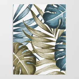 TROPICAL LEAVES 5 Poster