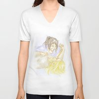 kili V-neck T-shirts featuring Fili and Kili by JoySlash