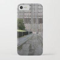 scotland iPhone & iPod Cases featuring Glasgow Scotland  by Sanchez Grande