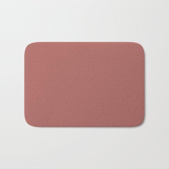 Marsala Color Matte 2015 Bath Mat
