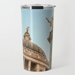 St. Paul's Cathedral in London Photo by Larry Simpson Travel Mug