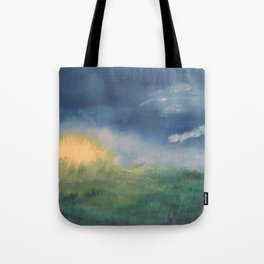 SunnySide Up - Abstract Nature Tote Bag