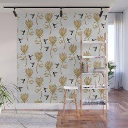 Hummingbird & Flower I Wall Mural